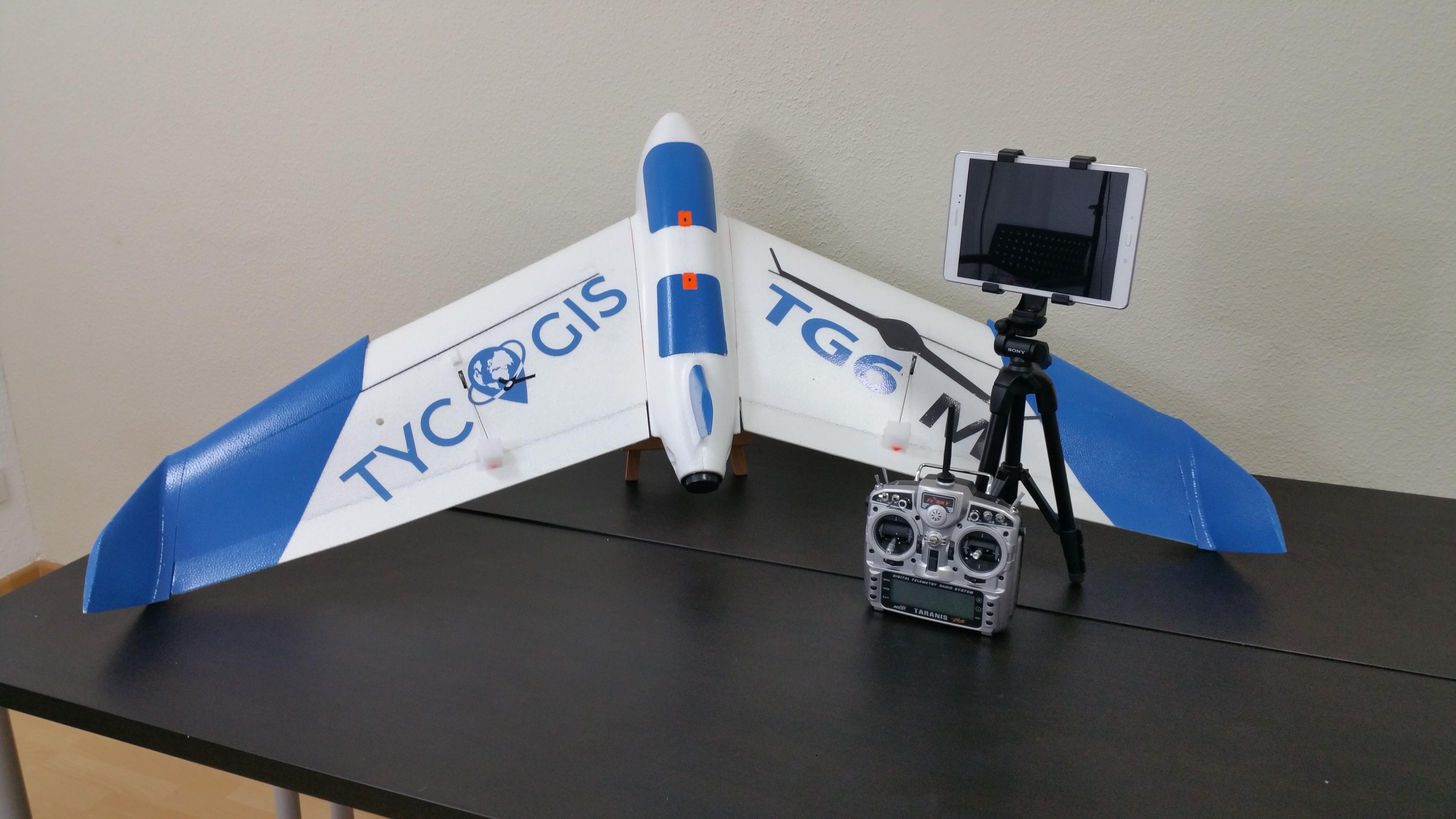 bc94747b2fd TG6-M | Equipo dron de ala fija para teledetección multiespectral y  agricultura de precisión