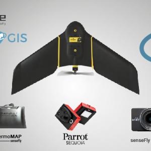 Drone ebbe plus tyc gis sensores