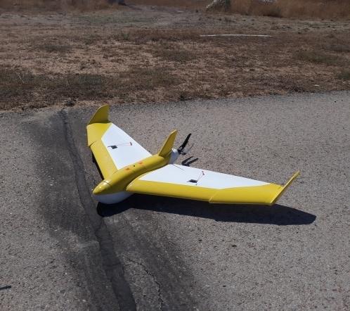 Demostración de vuelo del Dron TG-6 de ala fija