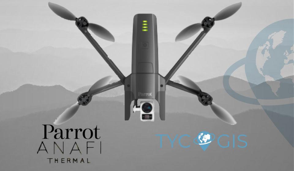 Parrot Anafi Thermal | Multirrotor Camara Dual | TYC GIS